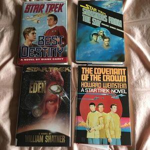 Star Trek hardcover books